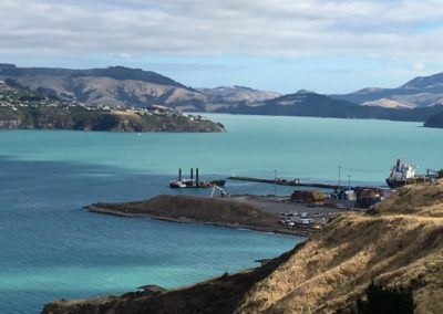 Lyttelton Port Reclamation Stage 1